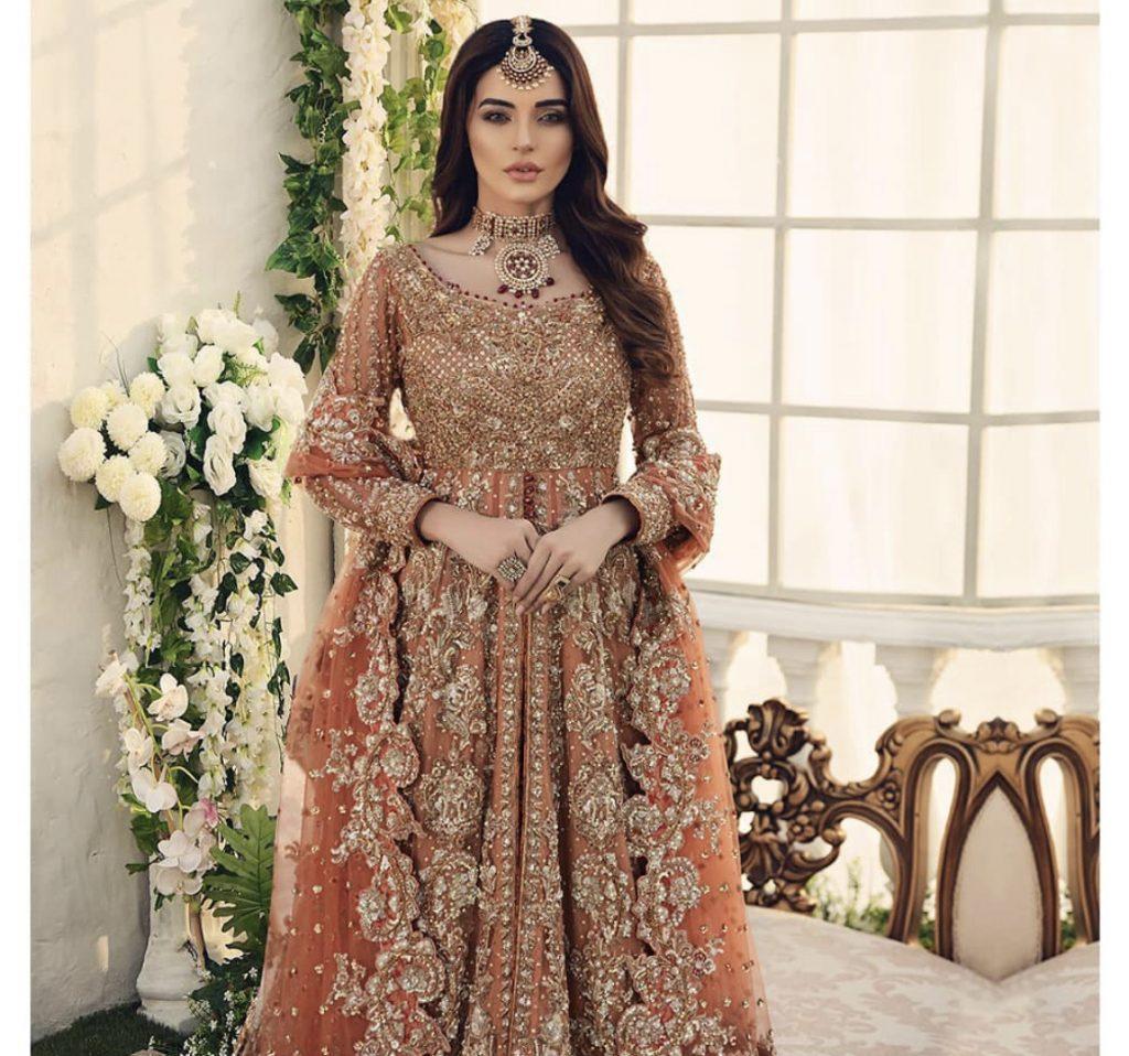 Latest Clicks Of Sadia Khan From Bridal Photoshoot