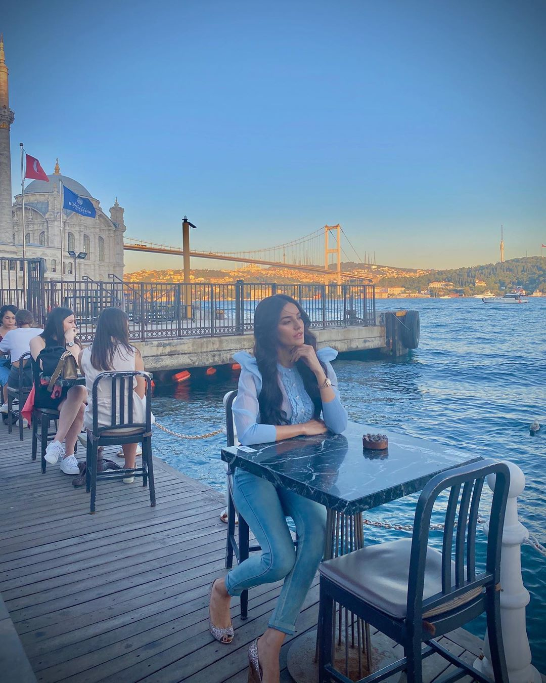 Actress Sadia Khan Beautiful Pictures from her Turkey Trip