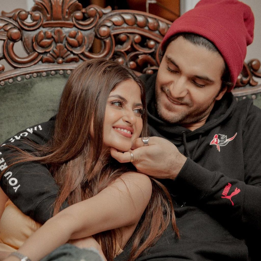 Sajal Aly Pens Down Sweetest Wish For Ahad's Birthday