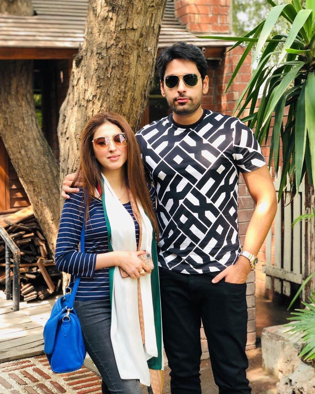 Newly Married Couple Salman Saeed and Aleena Fatima - Adorable Pictures
