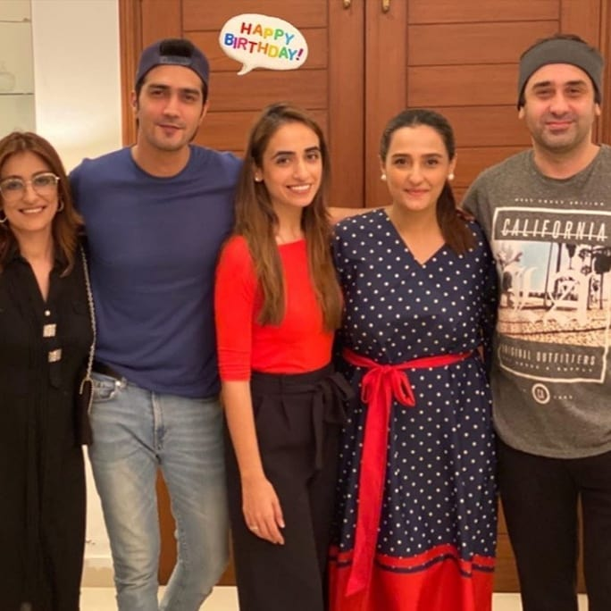 Actor Shahzad Sheikh Birthday Party Pictures