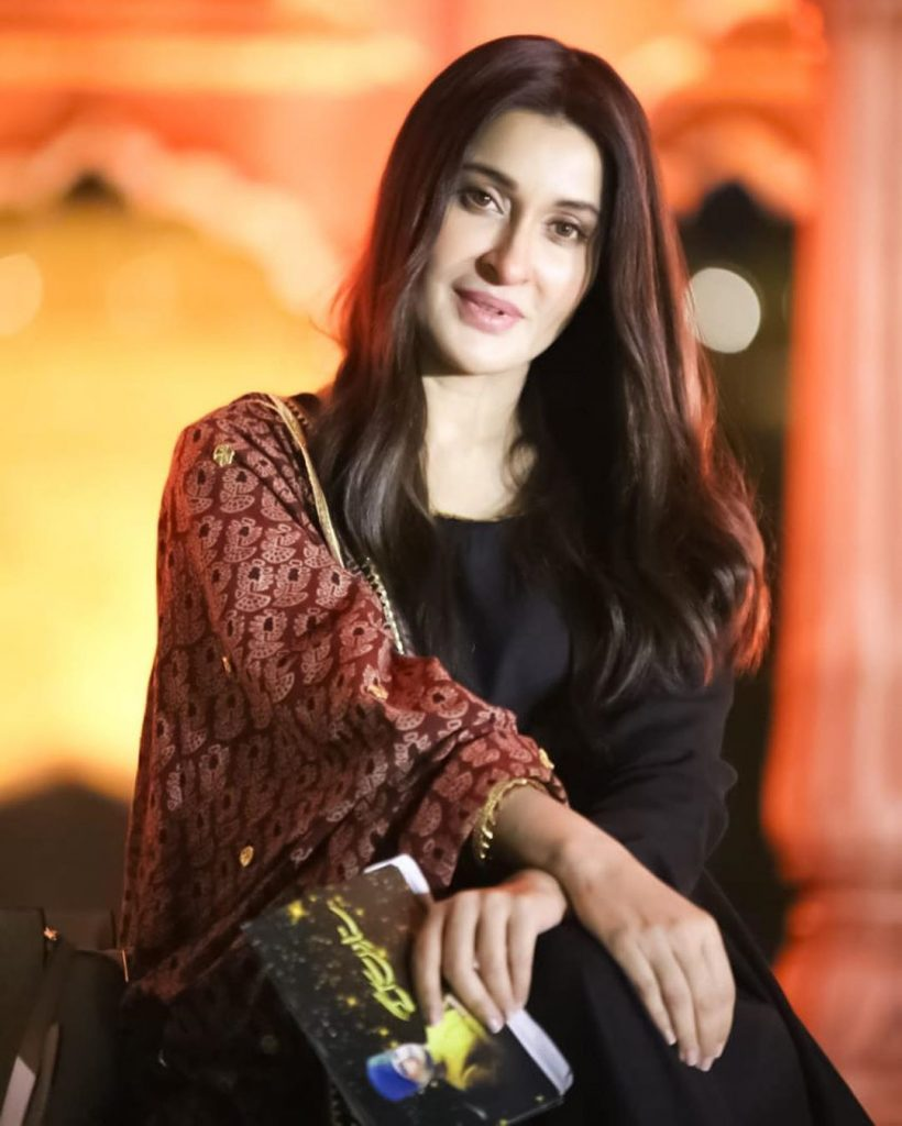 Shaista Lodhi Recently Spotted In Saree