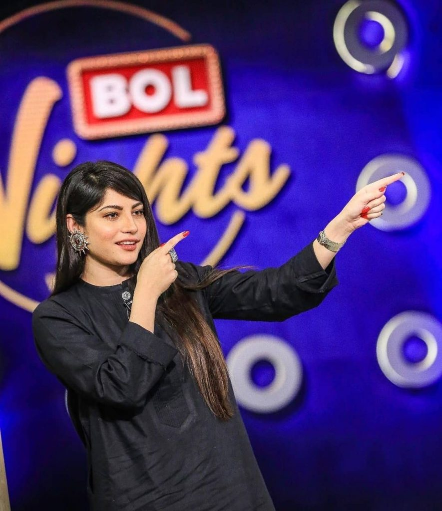 Stunning Pictures Of Neelum Munir From The Sets Of Bol Nights 5