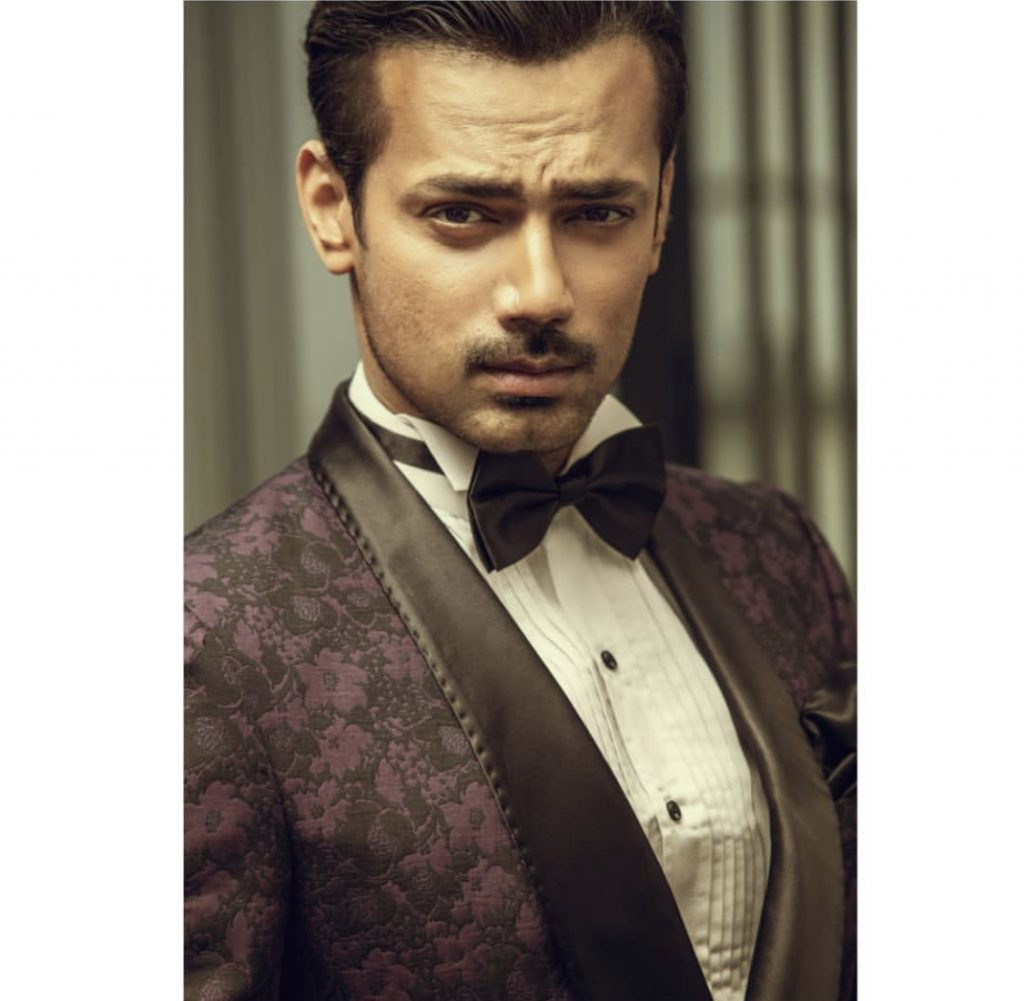 Zahid Ahmed Looking Handsome In His Latest Photoshoot