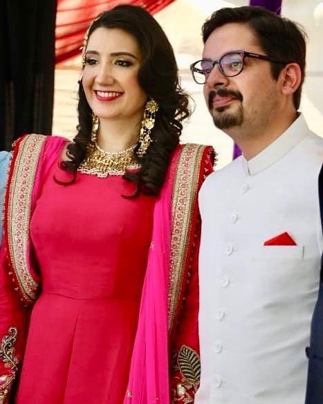 Singer Zeb Bangash Beautiful Wedding Pictures