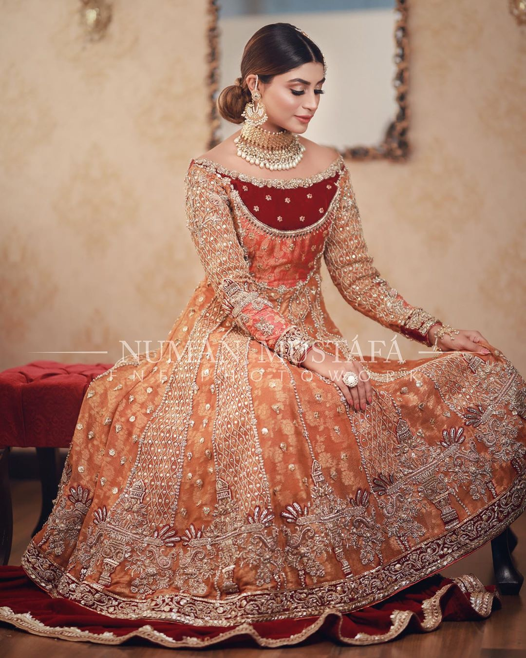 Gorgeous Actress Zoya Nasir Beautiful Bridal Photo Shoot