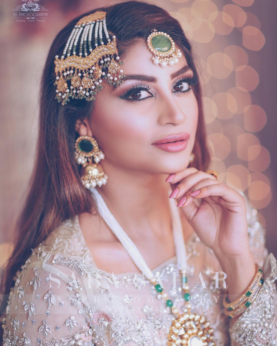 Actress Zoya Nasir Latest Bridal Photo Shoot