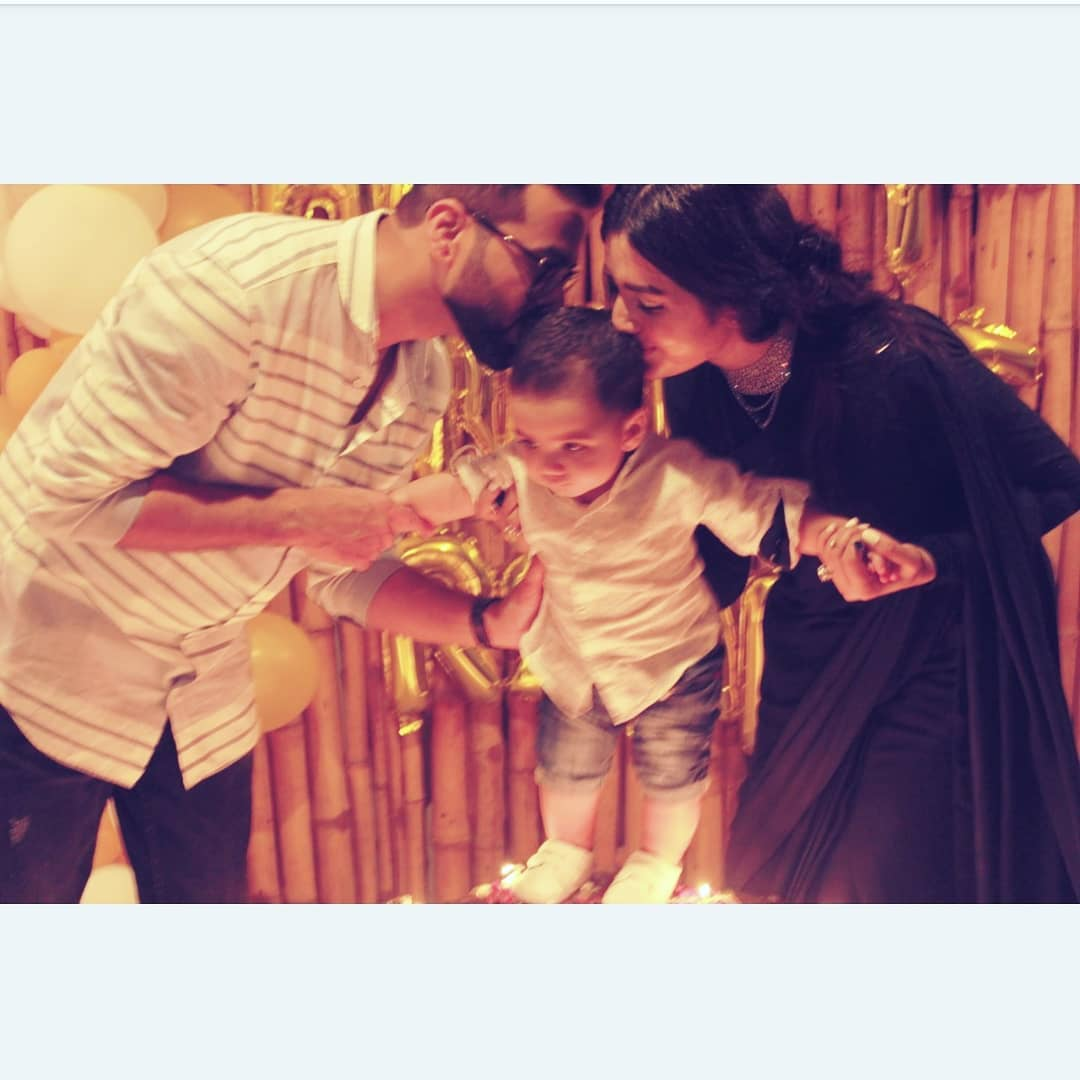 Actress Anum Fayaz Celebrated Birthday of her Husband - Pictures