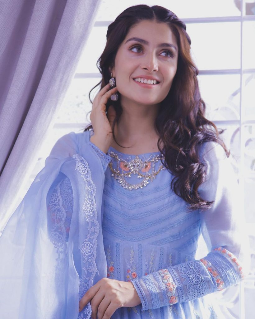 Stunning Pictures of Ayeza Khan in Curly Hair – Complete Collection