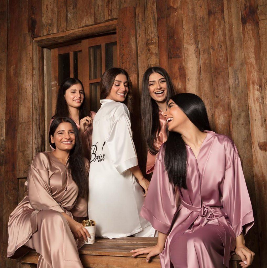 Ayeza Khan Under The Spotlight For Ansab Jahangir Studio