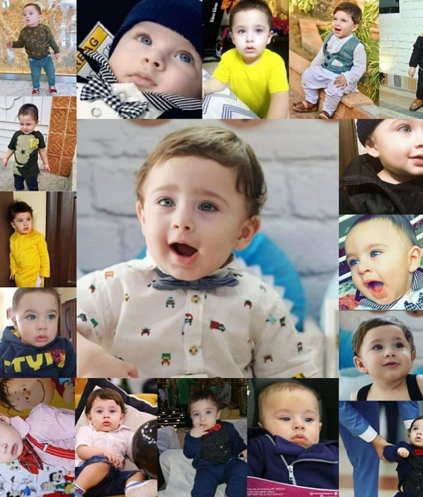 Fatima Effendi Shares Some Throwback Pictures Of Her Baby Boy Wishing Him A Very Happy Birthday