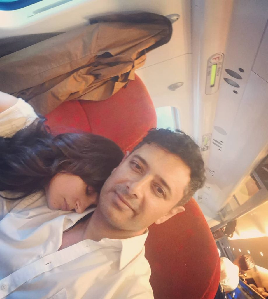 Rare and Unseen Photos of Armeena Rana Khan with Her Husband