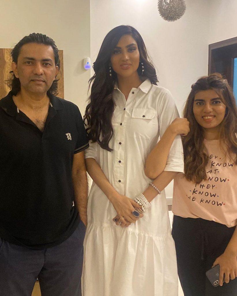 Fiza Ali Meets Sajjad Ali And His Family
