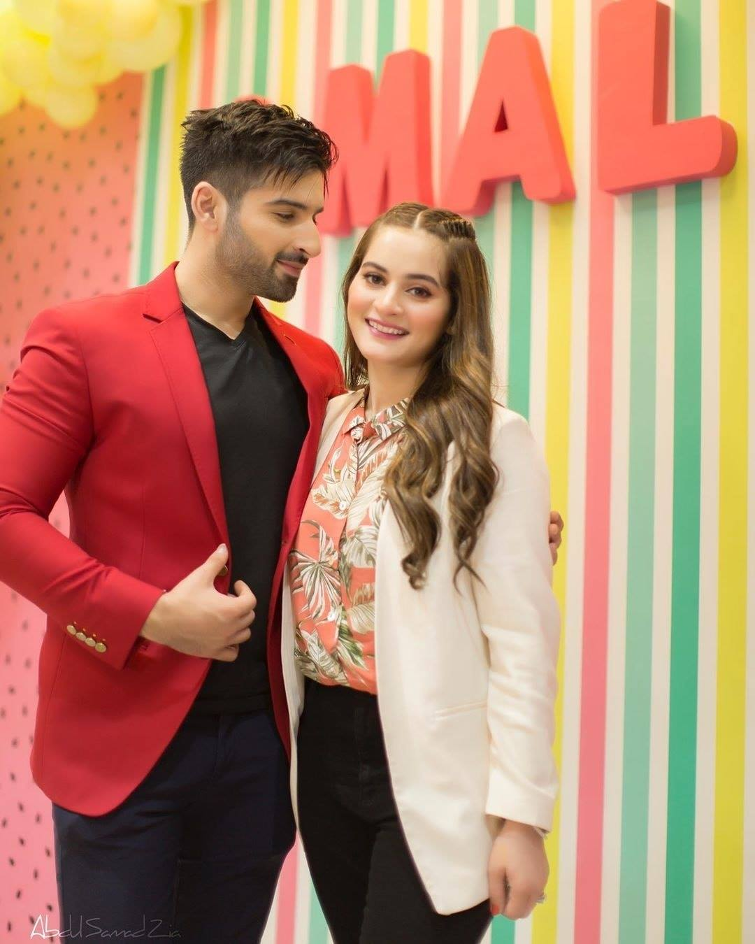 Aiman Khan Daughter Amal's 1st Birthday Celebrations Pictures