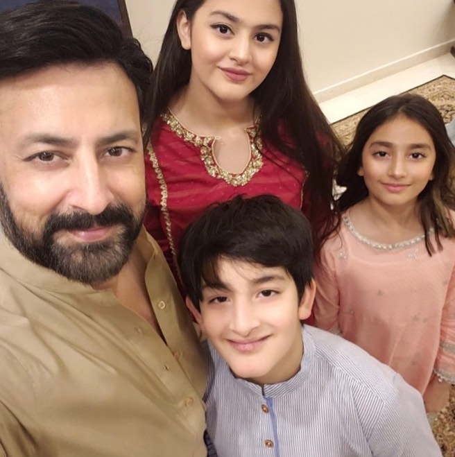 Babar Ali Shares Some Adorable Pictures With His Family
