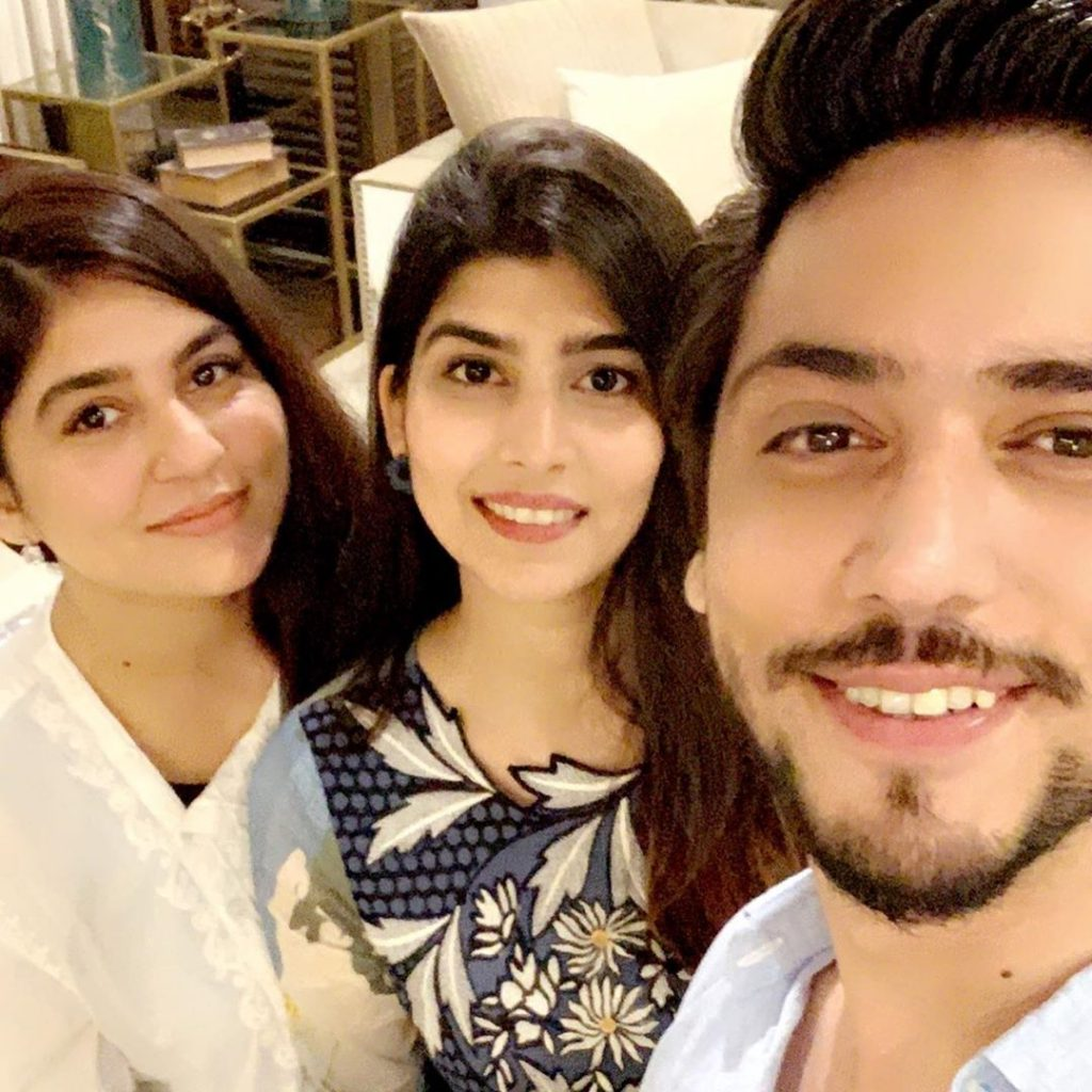 Ahmed Godil And His Wife Meets Sanam Baloch