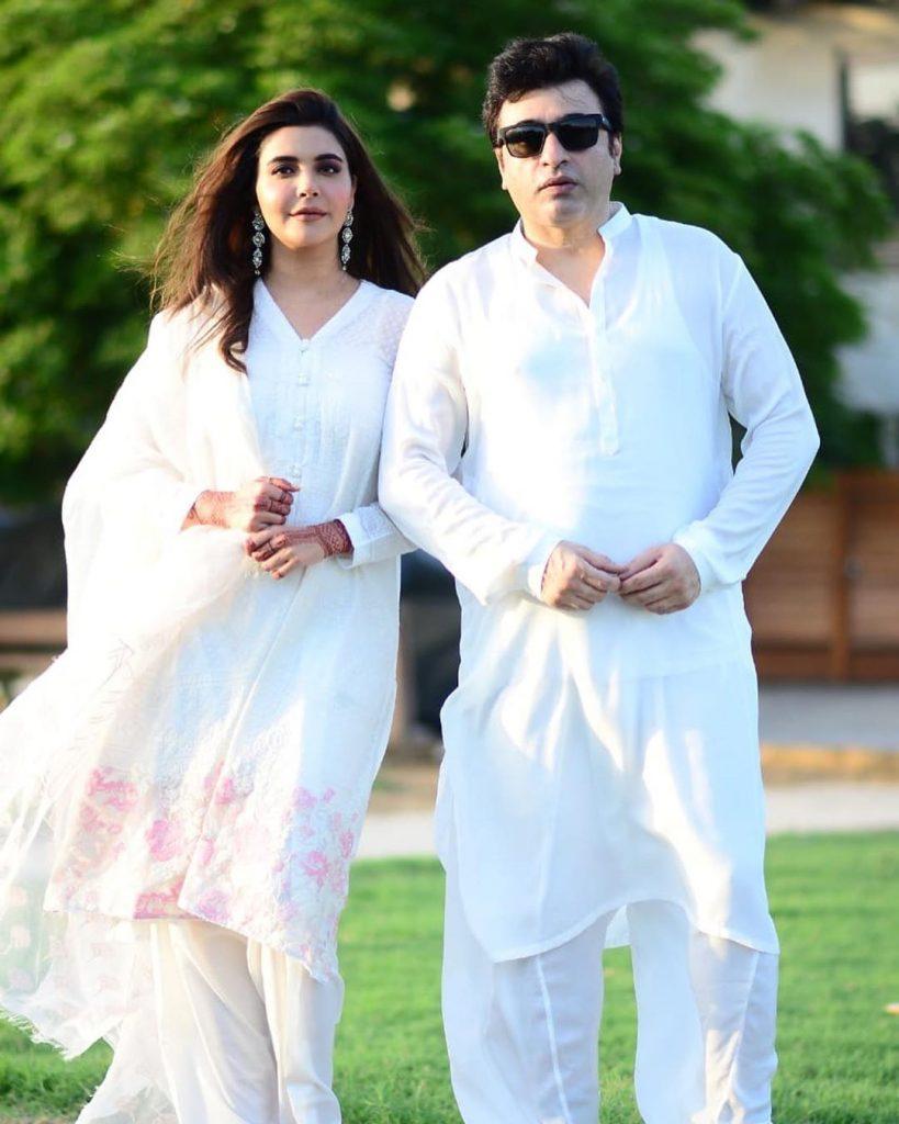 Lovely Couple Photos of Yasir Nawaz and Nida Yasir