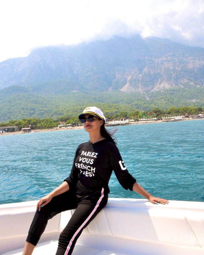 Kiran Tabeir Shares Some Recent Pictures From Her Trip To Istanbul