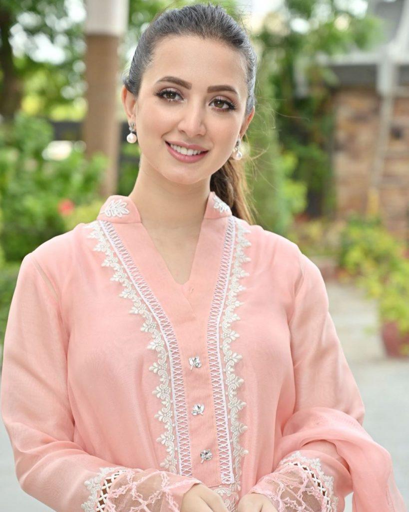 Latest Eastern Party-Wear Dresses of Komal Aziz Khan