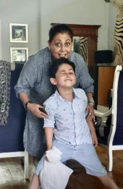 Mehreen Raheal Celebrates Birthday Of Her Children