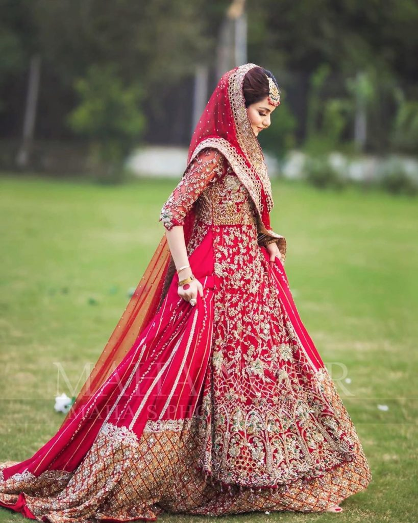 Syeda Tuba Amir Being All Dolled Up By Faizas Salon