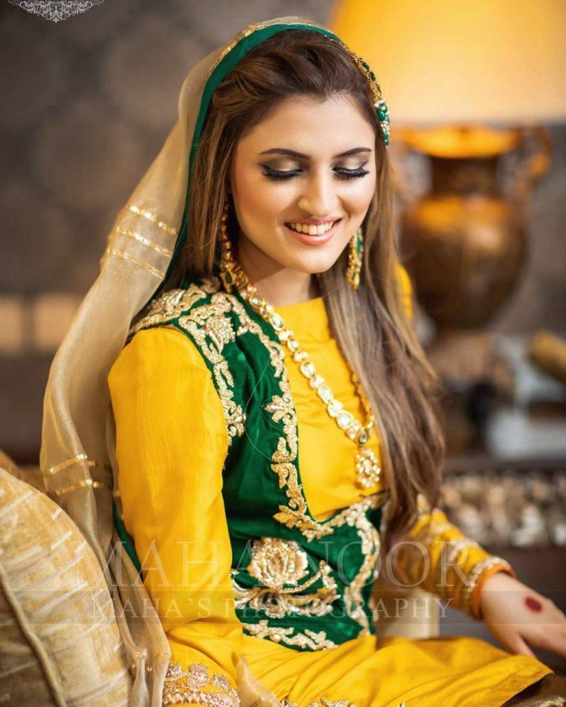 Recent Bridal Shoot Featuring Tanya Hussain