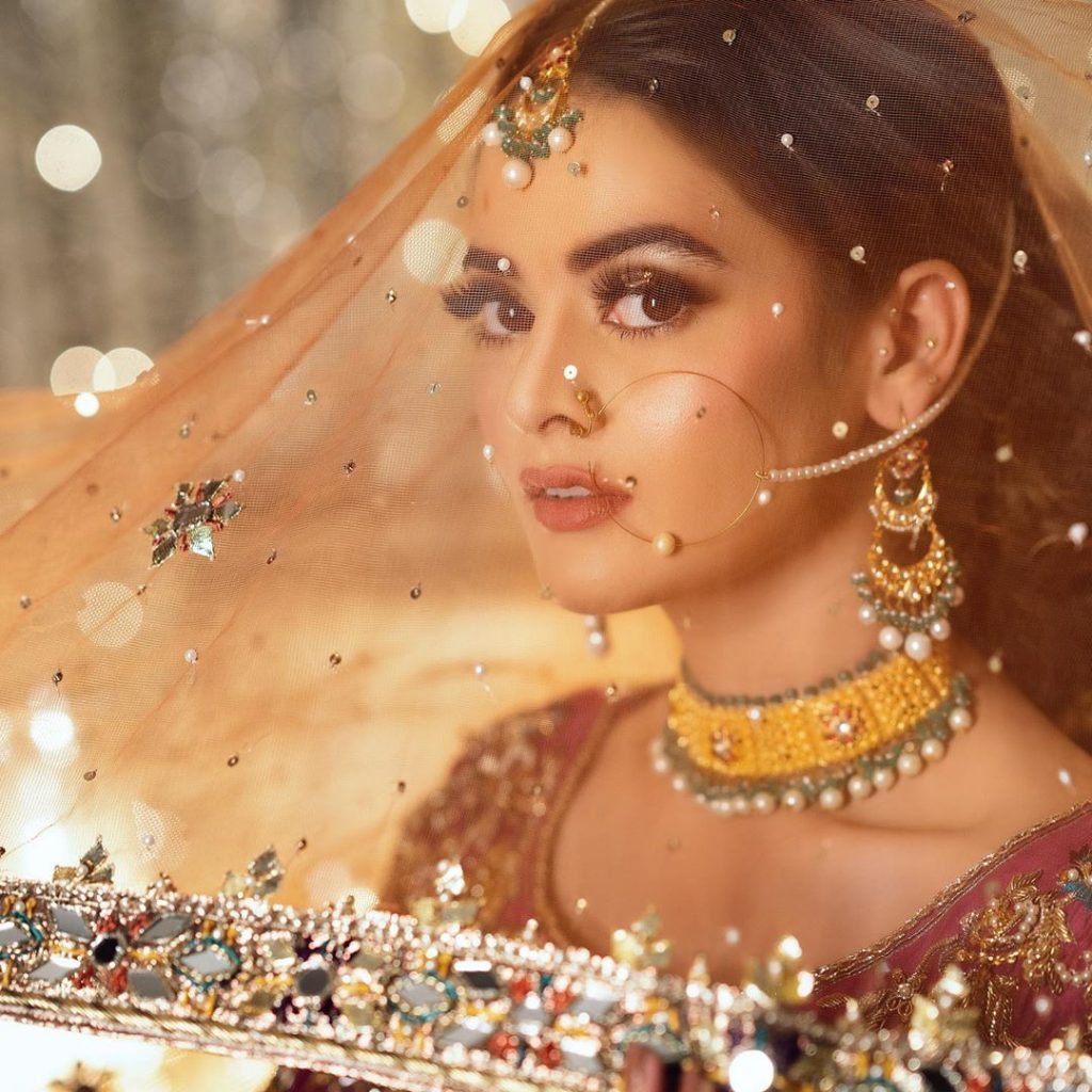 Minal Khan Looked A Vision In her Latest Shoot For Samsara Couture