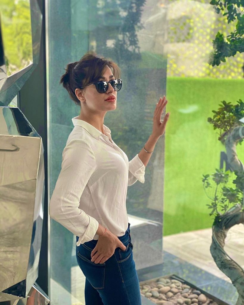 The Classic Poses of Mehwish Hayat Has Won The Hearts of Her Fan - Latest Photos