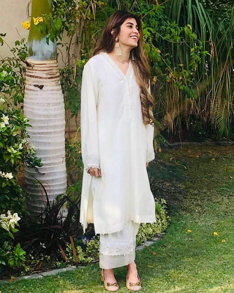 Eastern Dresses that Minna Tariq has Recently Worn