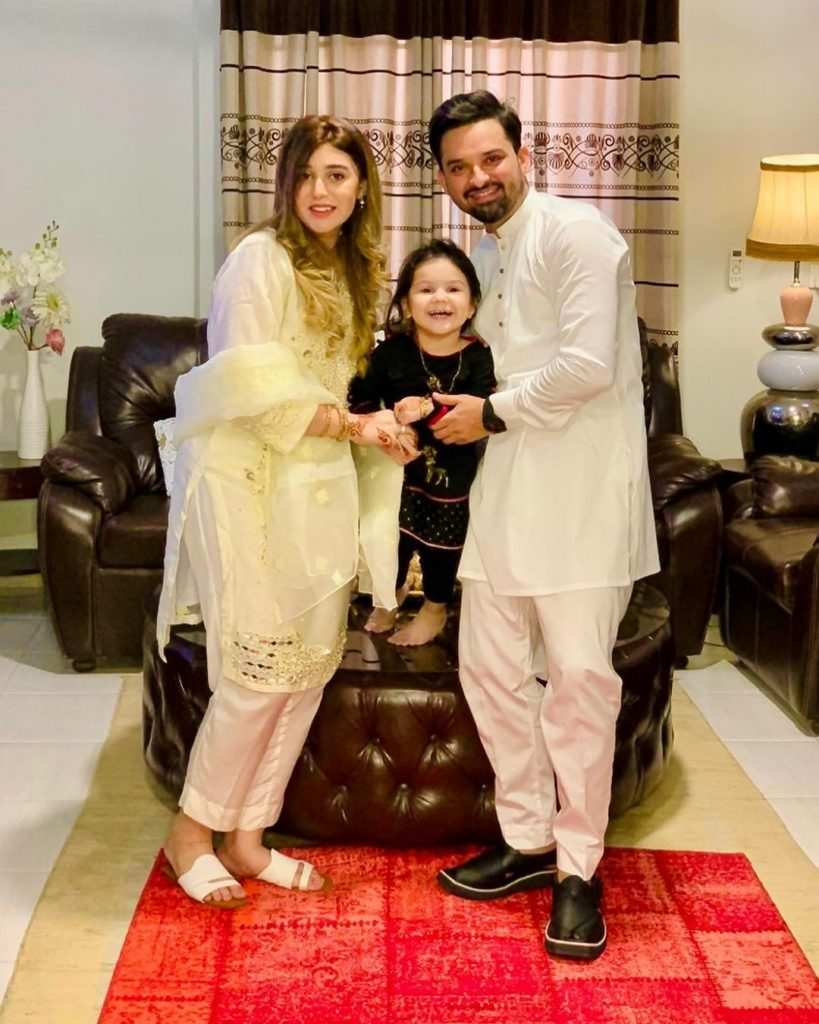 Noman Habib Shares Some Adorable Pictures With His New Born Baby Girl