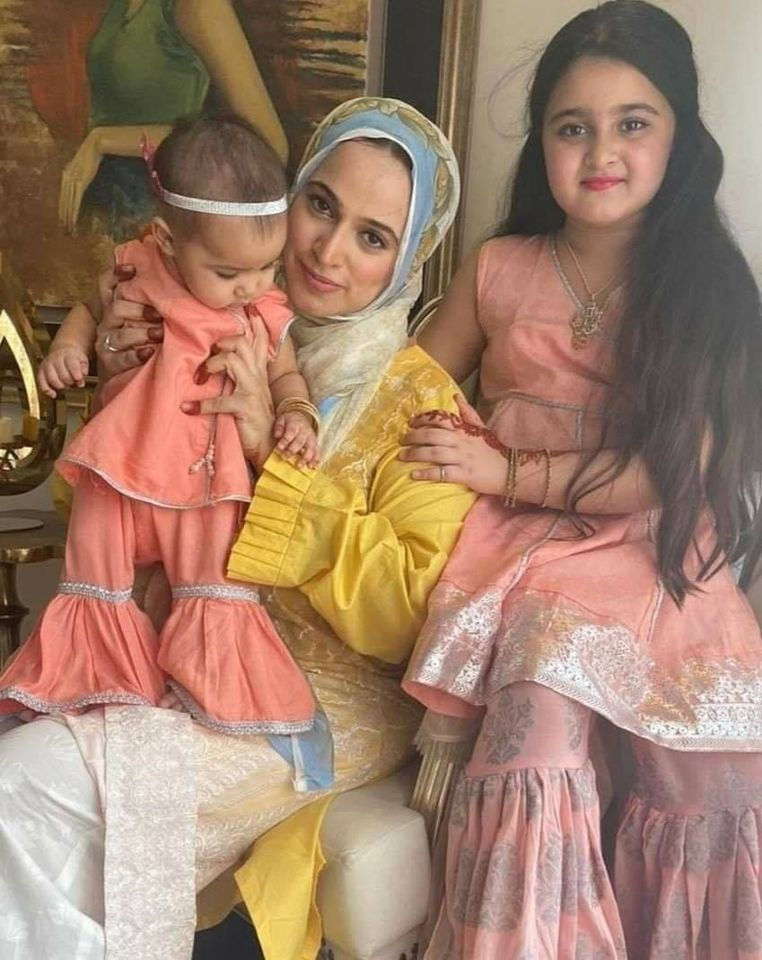 Noor Bukhari with her Husband and Daughters - Latest Clicks