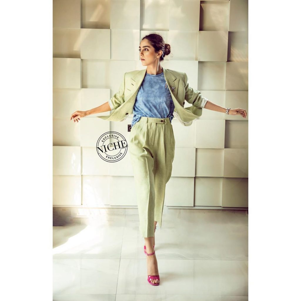 Maya Ali Under The Spot Light For Niche Lifestyle Magazine