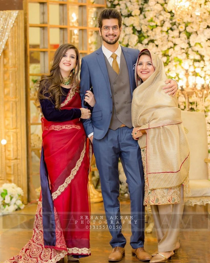 Abullah Qureshi Recently Spotted At A Wedding With His Family