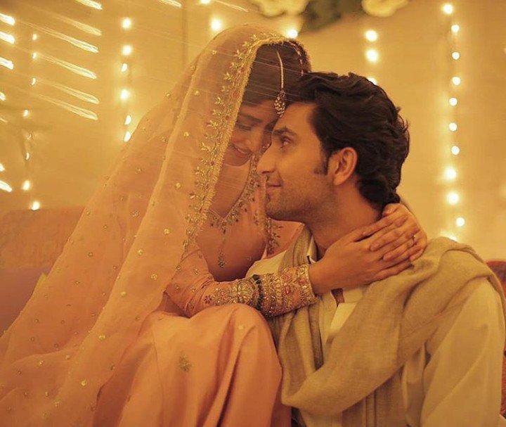 Sajal Ali Carrying Desi Look