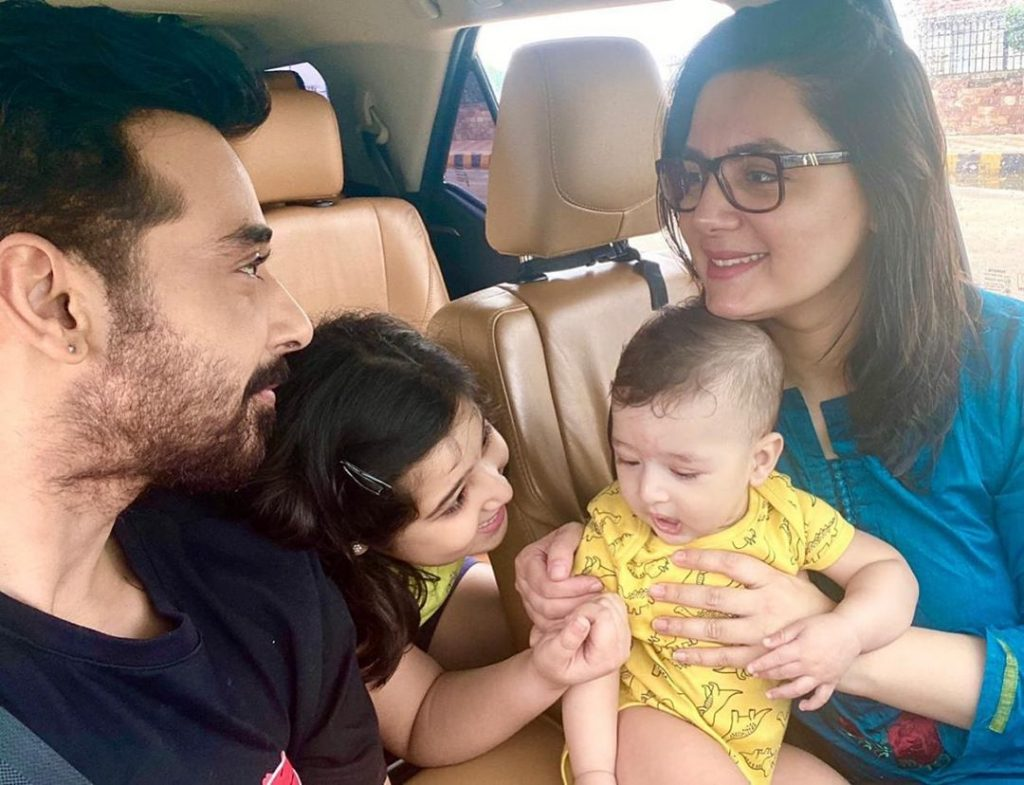 Family Pictures of Faisal Qureshi inside His House