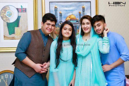 shaista lodhi family pics 3
