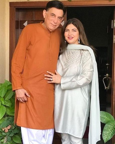 Shagufta Ejaz Celebrates Her Anniversary