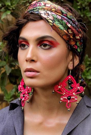 Mushk Kaleem Seen In A Jewelry Shoot
