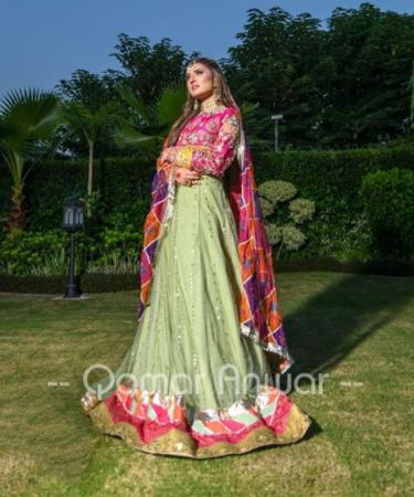 Latest Bridal Shoot Featuring Tania Hussain