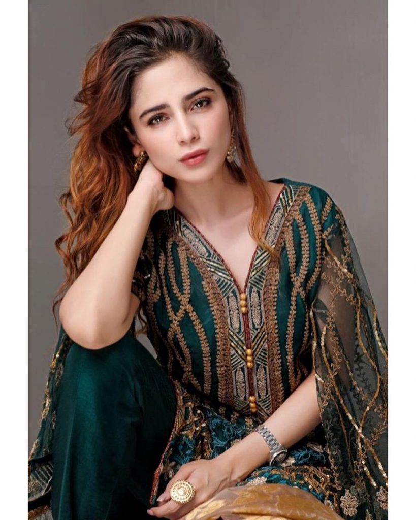 30 Stunning Pictures Of Aima Baig In Eastern Dresses