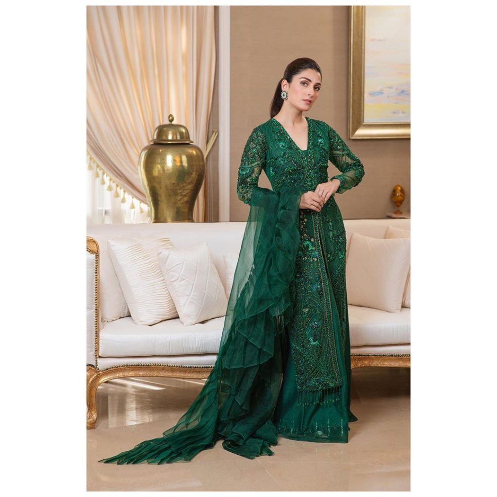 Top 10 Beautiful Dresses Worn By Ayeza Khan