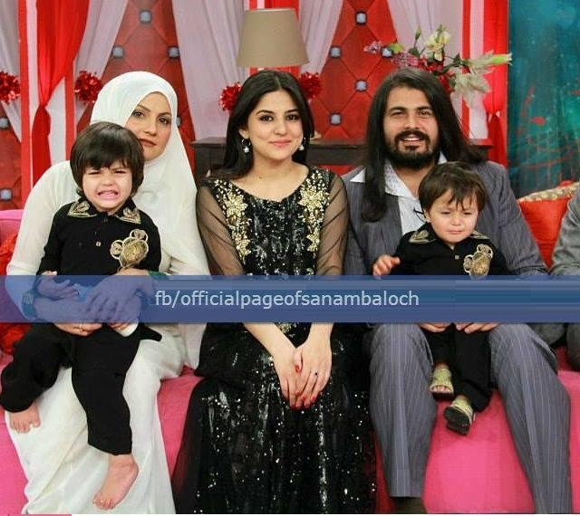 Unseen Family Photos of Lollywood Actor Babrak Shah