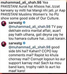 Sarwat Gilani Slammed Hater For Criticizing Churails