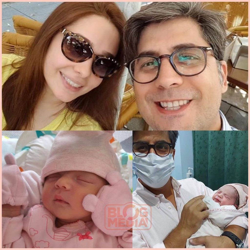 First Look Of Juggun Kazim's New Born Daughter
