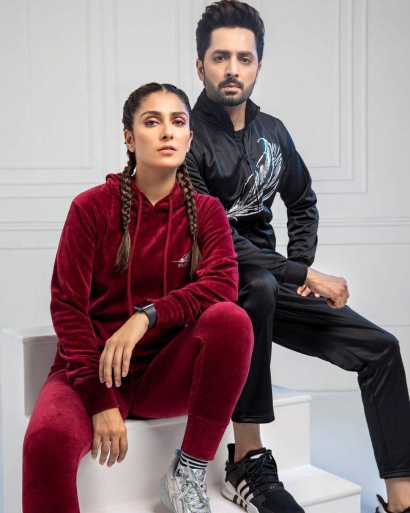 Ayeza Khan And Danish Taimoor Latest Photo Shoot