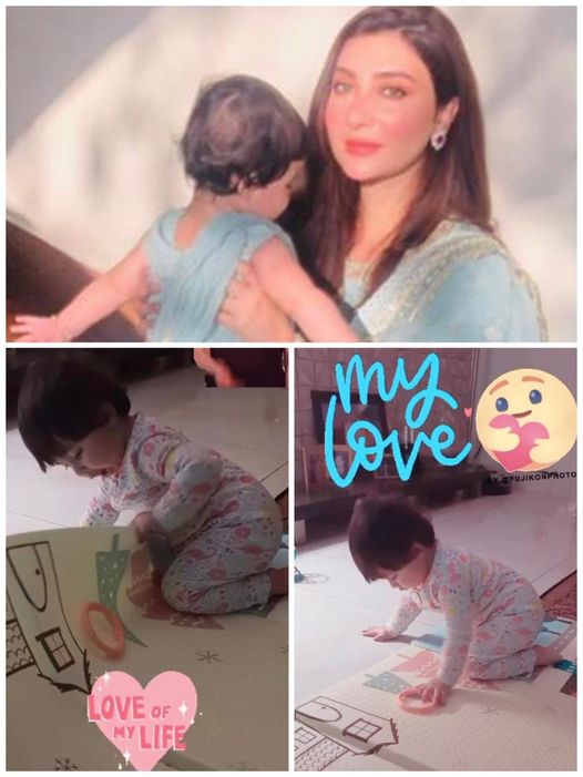 Aisha Khan Shared Her Daughter's Clicks For The First Time