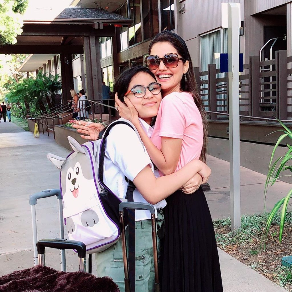 Unseen and Latest Pictures Of Natasha Hussain With Her Beautiful Daughter