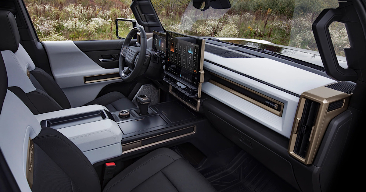 GMC Launches Its First All Electric Hummer EV