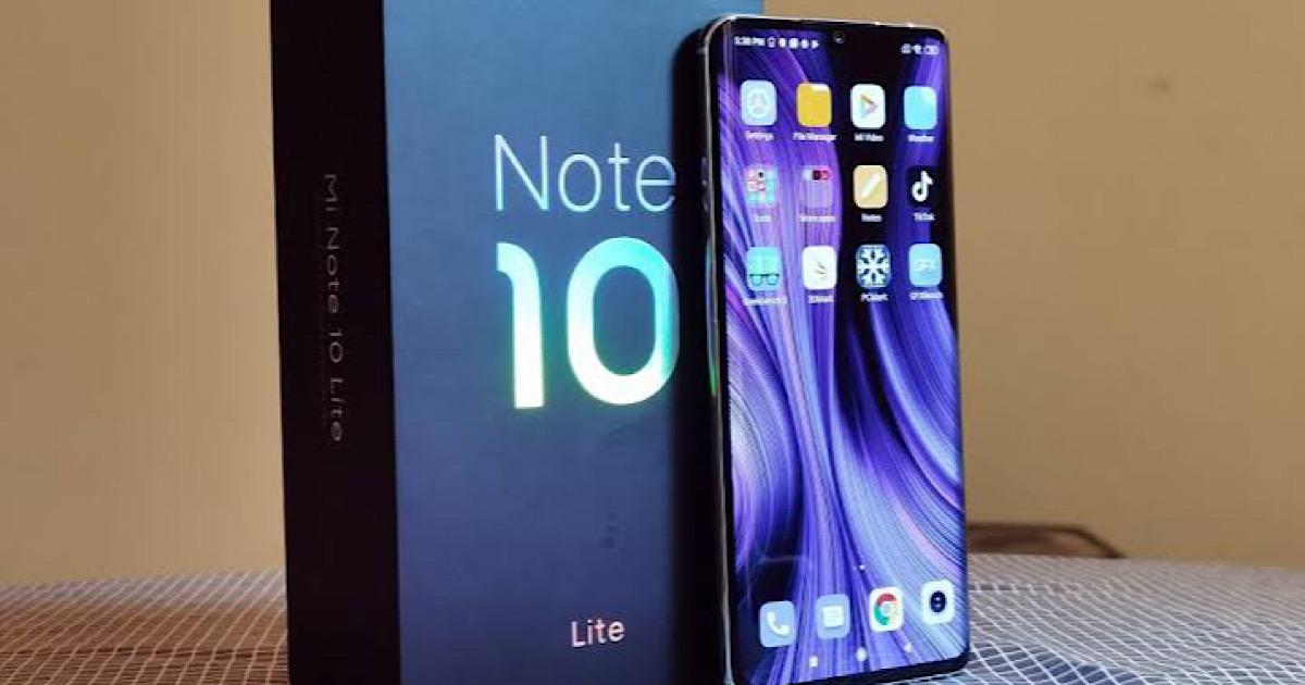 Xiaomi Mi Note 10 Lite Price in Pakistan and Specs