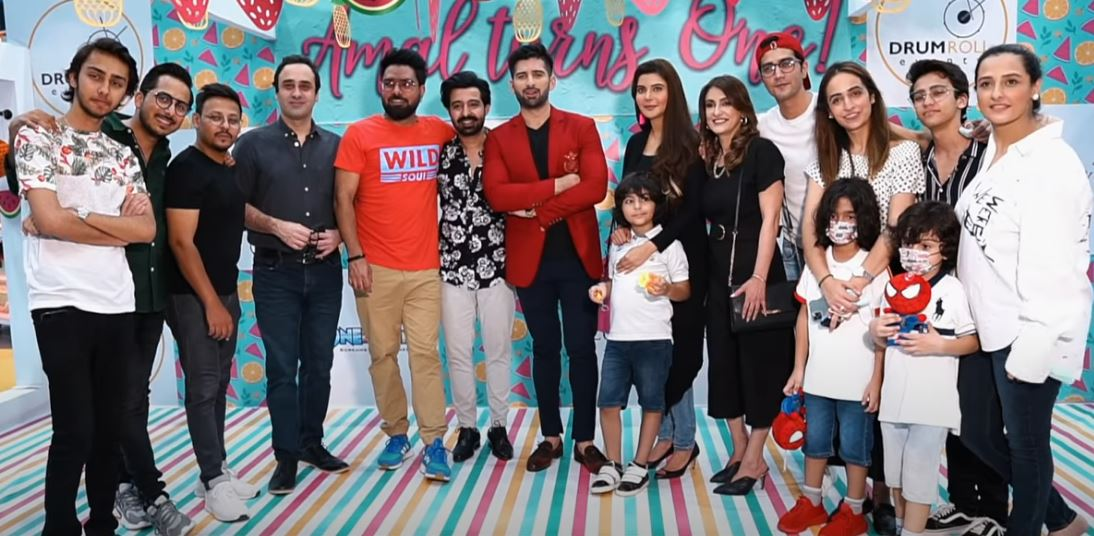 Aiman Khan and Muneeb Butt Daughter Amal's First Birthday Official Video